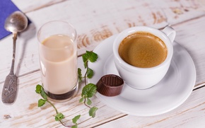 Picture Cup, food, coffee, milk, candy