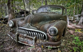 Picture scrap, Buick, background, machine