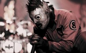Picture music, metal, Rock, metal, rock, Slipknot, mask, Corey Taylor, Corey Taylor, Slipknot