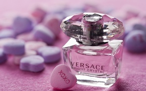 Picture perfume, bottle, perfume, VERSACE