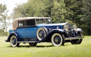 Picture retro, background, Cadillac, the front, 1930, Cadillac, V16, Phaeton, by Fleetwood, All-Weather