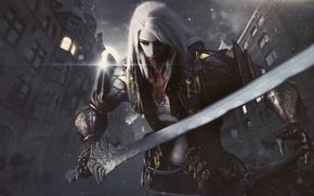 Picture Alucard, Vampire Hunter, Castlevania: Lords of Shadow 2, Trevor Belmont