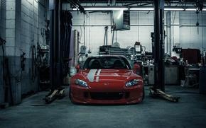 Picture garage, honda, lift, s2000