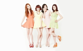 Picture music, girls, Asian girls, South Korea, k-pop, Stellar