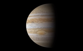 Picture Jupiter, Gas giant, The fifth planet, Jupiter, The God of thunder