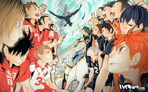 Picture Wallpaper, sport, art, volleyball, HAIKYUU