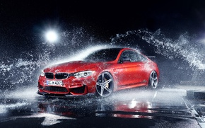 Picture squirt, BMW, Coupe, water drops, F82, by AC-Schnitzer, Export Version