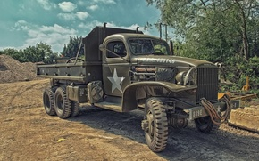 Picture truck, army, high, patency, CCKW 353