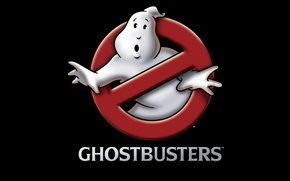 Wallpaper ghostbusters, Ghostbusters, logo