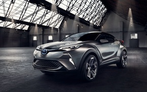 Wallpaper C-HR, 2015, Concept, concentrate, Toyota, Toyota