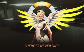 Picture medic, angel, overwatch