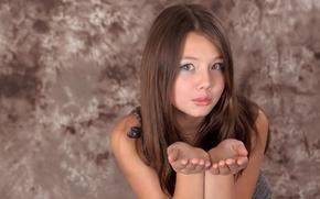 Picture look, girl, model, hair, Kleofia