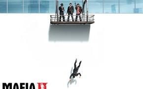 Wallpaper Murder, Balcony, Mafia 2, White Wall, Mafia 2
