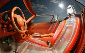 Picture design, interior, the wheel, salon, cars, seat, Rinspeed zaZen