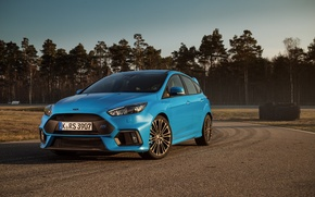Picture ford, blue, focus