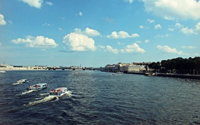 Picture Summer, Russia, Neva, Petersburg