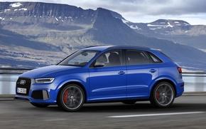 Picture Audi, Auto, Blue, Machine, Car, 2016, Amplified