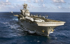 Picture weapons, army, Navy, amphibious assault ship, USS Makin Island (LHD 8)