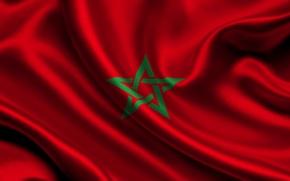 Picture flag, marocco, Morocco
