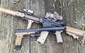 Picture gun, weapons, carabiner, Close Quarters Battle Receiver, CQBR, Mk 18, Carbin