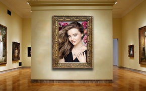 Picture girl, sexy, wall, model, brunette, gallery, pictures, beauty, celebrity, Miranda Kerr, Miranda Kerr