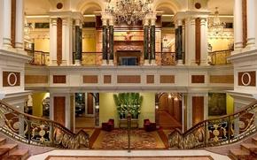 Picture design, style, Villa, interior, Dom-castle, lobby, Vilard Mansion