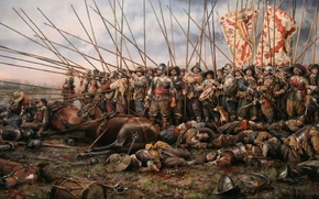 Picture war, weapons, Middle Ages, spearman