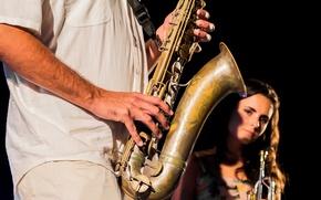 Picture musician, Jazz, saxophone, Saxo