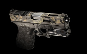 Wallpaper Mk 2, gun, Glock 19, style