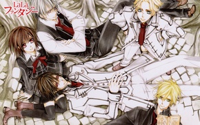 Picture roots, book, form, vampires, art, kaname kuran, students, vampire knight, yuuki cross, aidou hanabusa, kain …