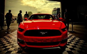Picture hdr, red, ford, MUSTANG