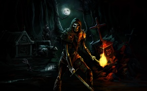 Picture Night, Undead, Skeletons, Trine, Cemetery