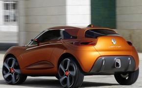 Picture auto, Concept, Wallpaper, Renault, Reno, back, Captur