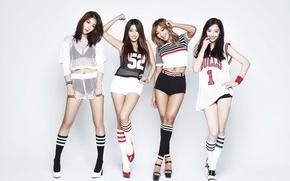Picture music, girls, legs, Asian girls, body, Sistar, K-pop, South Korea