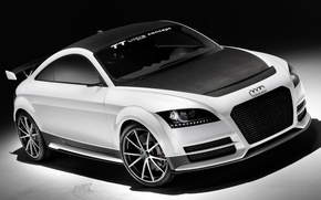 Picture car, Concept, Audi, Wallpaper, wallpapers, the front, ultra four