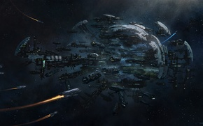 Picture space, ships, stars, space, stars, game wallpapers, spaceships, Spider, Spider, Star Citizen, Star citizen, Cathcart ...