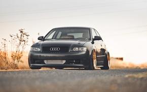 Picture road, machine, auto, Audi, Audi A4