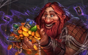 Picture card, Dwarves, hearthstone