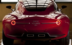 Picture Concept, car, rear view, Touring, Flying Disc, SuperLeggera