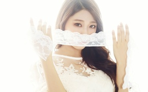 Picture girl, music, Asian, South Korea, K-pop, AoA