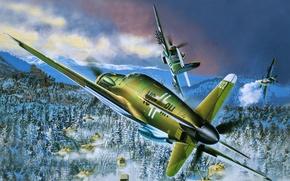 Picture figure, battle, art, Do - 335A -1