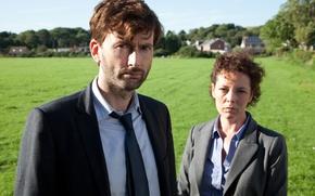 Picture the series, drama, crime, David Tennant, Murder on the beach, Broadchurch, Olivia Colman