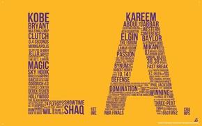 Wallpaper NBA, Lakers, baskketball, Los Angeles, The Lakers, Los angeles, NBA, basketball