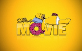 Picture the simpsons, briefs, donuts, Homer