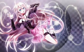 Picture look, girl, vocaloid, gesture, Vocaloid, art, ranyun
