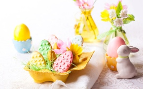 Picture Rabbit, Easter, Eggs, Food, Easter, Cookies, Cakes