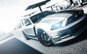 Picture white, Mustang, Ford, Mustang, white, Ford, 302, Boss, boss, Gran Turismo, PlayStation, Gran Turismo 6, …