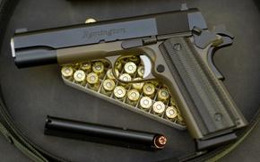 Picture gun, 1911, Remington, semi-automatic pistol