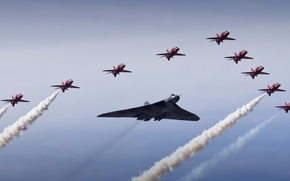 Wallpaper army, aircraft, Vulcan