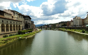 Picture Italy, Florence, Italy, Florence, Italia, Firenze, Arno River, Arno